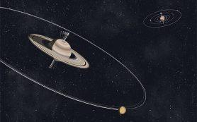 Спутники Сатурна «заваливают на бок» гигантскую планету