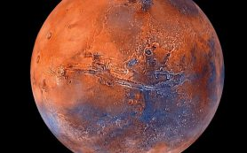 Марс теряет в космос воду во время пылевых бурь и теплых сезонов