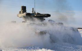 «Терминаторов» впервые испытали совместно с танками