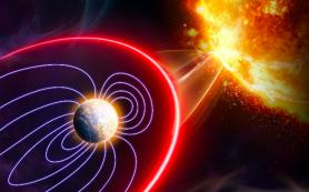 Влияние солнечных вспышек на магнитосферу Земли