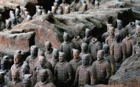 47 лет назад обнаружена Терракотовая армия ─ многотысячное захоронение статуй китайских воинов