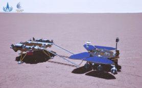 Китайский марсианский ровер приступил к изучению поверхности Красной планеты