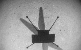 Марсианский вертолет Ingenuity совершает свой 9-ый полет