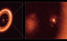 Первое однозначное обнаружение аккреционного диска вокруг экзопланеты