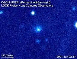 Открыта активность крупнейшей кометы, когда-либо обнаруженной учеными