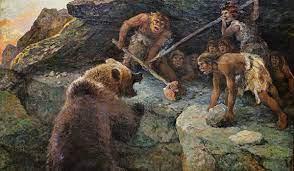 Древние люди охотились на малых пещерных медведей
