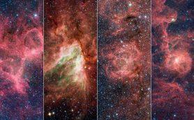 В одном из спиральных рукавов Млечного пути обнаружена загадочная структура