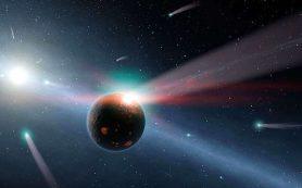 Вероятно Солнце сдуло большую часть материала из ранней Солнечной системы