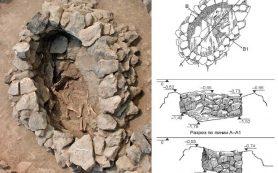 В Армении раскопали ритуальное погребение коня в каменной гробнице