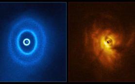 Возможное первое обнаружение экзопланеты, обращающейся вокруг тройной звезды