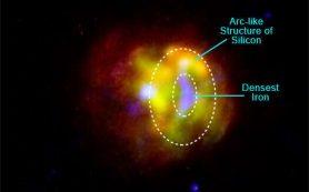 Взрыв стабильной звезды G344.7-0.1