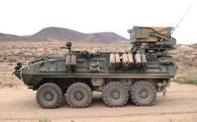 Израильтяне показали бронемашину с беспилотниками-камикадзе для американских морпехов